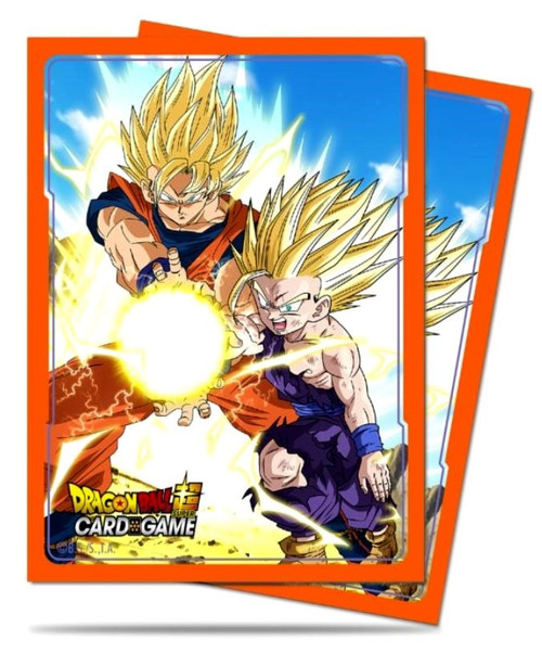 Ultra Pro Dragon Ball Super Father-Son Kamehameha Standard Card Sleeves [65 Count]