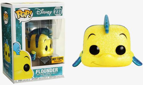 Funko The Little Mermaid POP! Disney Flounder Exclusive Vinyl Figure #237 [Diamond Collection]