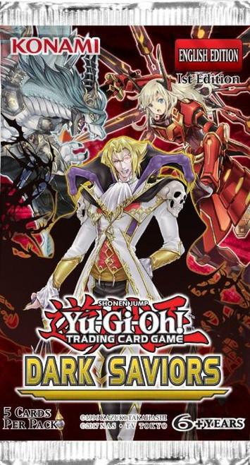 YuGiOh Trading Card Game Dark Saviors Booster Pack