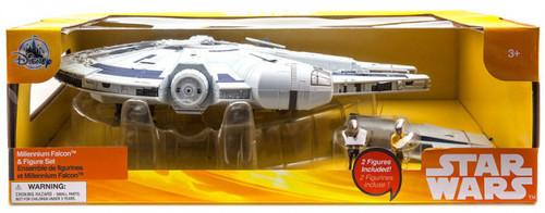 Disney Solo A Star Wars Story Millennium Falcon & Figure Set Exclusive [Lights & Sounds]