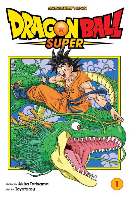 Viz Media Dragon Ball Super Volume 1 Manga Trade Paperback