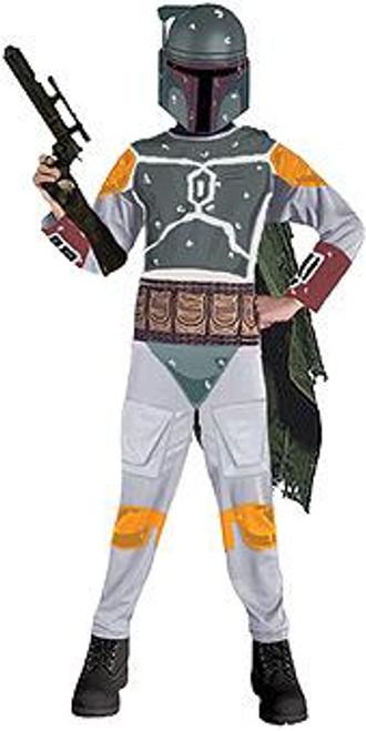 Star Wars Costumes Boba Fett Costume #883036 [Child Medium, Blaster not Included]