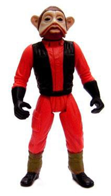 Star Wars Return of the Jedi Power of the Force POTF2 Loose Nien Nunb Action Figure [Loose]