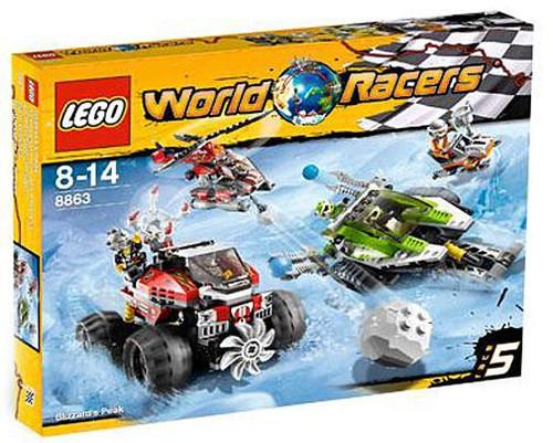 LEGO World Racers Blizzard's Peak Set #8863 [Damaged Package]