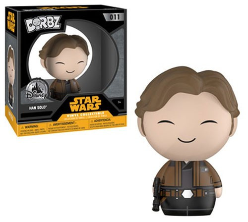 Funko Star Wars Dorbz Han Solo Exclusive Vinyl Figure #011