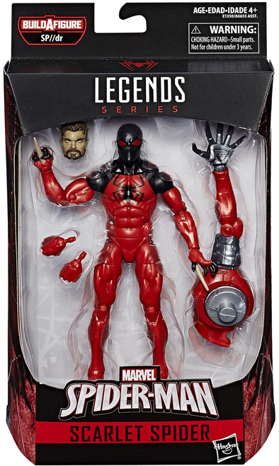 Spider-Man Marvel Legends Infinite SP//dr Suit Series Scarlet Spider Action Figure [Kaine Parker]