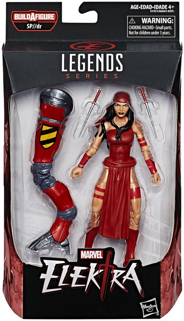 Spider-Man Marvel Legends Infinite SP//dr Suit Series Elektra Action Figure