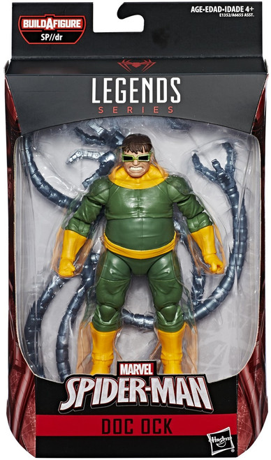 Spider-Man Marvel Legends Infinite SP//dr Suit Series Doc Ock Action Figure [Classic]