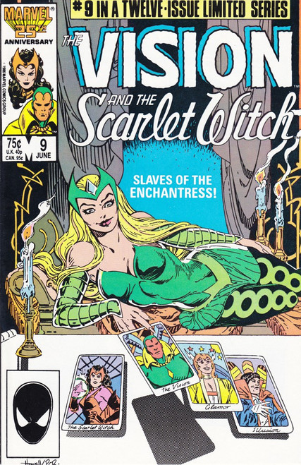Marvel Comics Vol. 2 The Vision and The Scarlet Witch #9 Twelve Issue Limited Series Comic Book