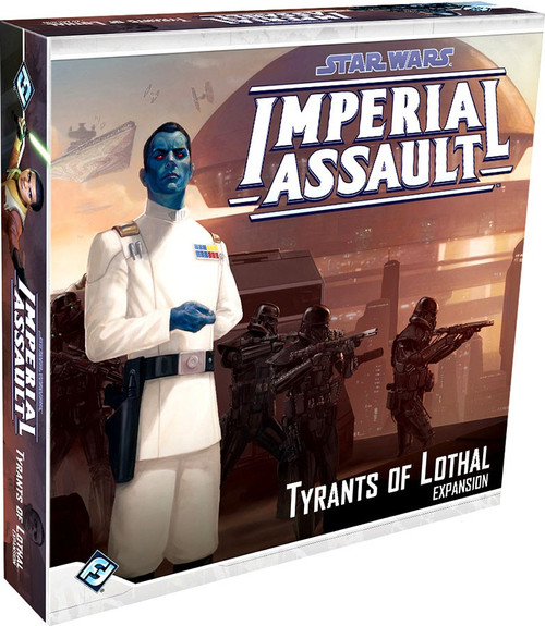 Star Wars Imperial Assault Tyrants of Lothal Board Game Expansion