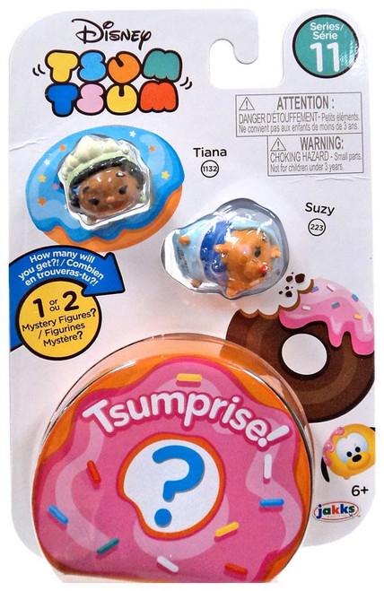 Disney Tsum Tsum Series 11 Tiana & Suzy 1-Inch Minifigure 3-Pack