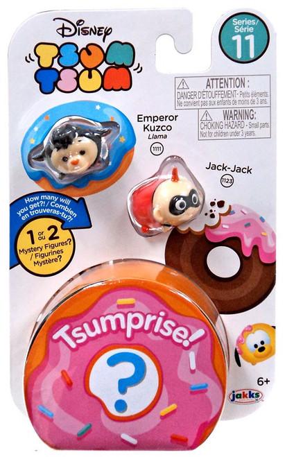 Disney Tsum Tsum Series 11 Emperor Kuzco & Jack-Jack 1-Inch Minifigure 3-Pack
