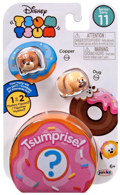 Disney Tsum Tsum Series 11 Copper & Dug 1-Inch Minifigure 3-Pack