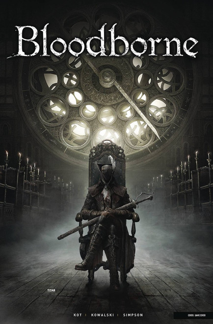 Titan Comics Bloodborne #4 Comic Book [Game Cover]