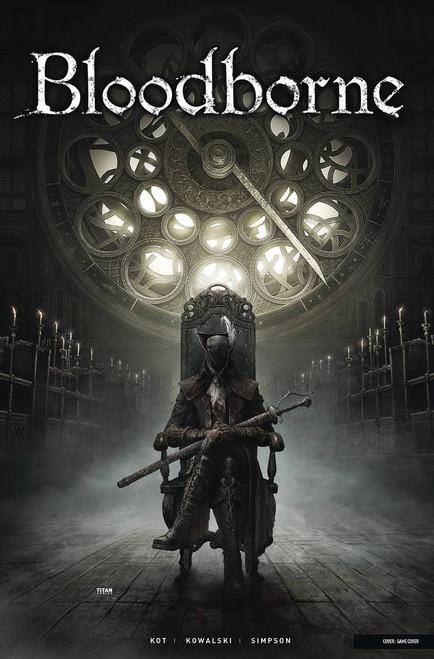 Titan Comics Bloodborne #4 Comic Book [Game Cover]