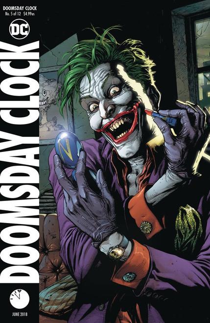 DC Doomsday Clock #5 Comic Book [Variant]