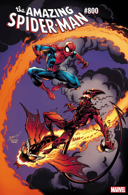 Marvel Amazing Spider-Man #800 Comic Book [Bagley Variant]