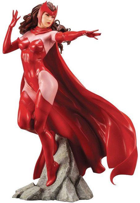 Marvel Avengers ArtFX+ Scarlet Witch Statue [Camic Version]