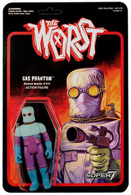 ReAction The Worst Gas Phantom Action Figure [Purple]