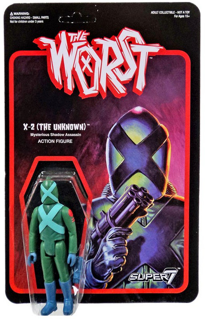 ReAction The Worst X-2 (The Unknown) Graveyard Shift Action Figure
