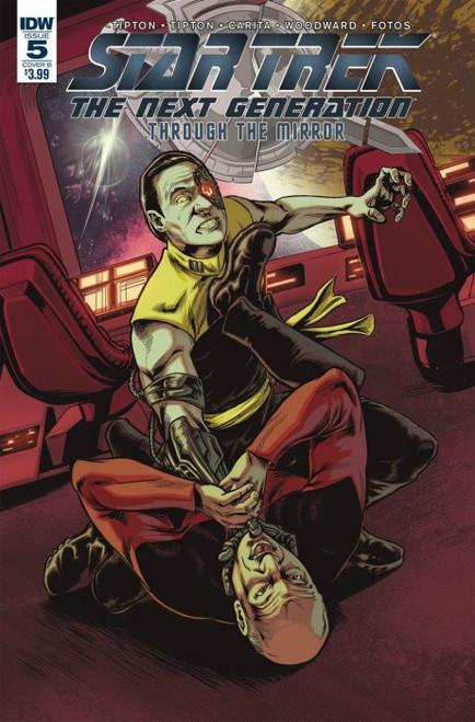 IDW Star Trek The Next Generation #5 Through the Mirror Comic Book [B Debora Carita Variant]