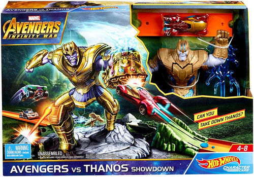 Hot Wheels Avengers Vs. Thanos Showdown Play Set