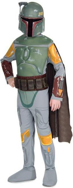 Star Wars Costumes Boba Fett Deluxe Costume #883076 [Child Medium]