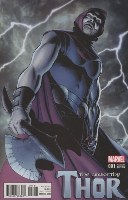 Marvel Comics The Unworthy Thor #1 Comic Book [John Cassaday Variant]