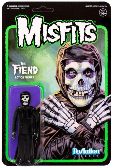 ReAction Misfits The Fiend Action Figure [Midnight Black]