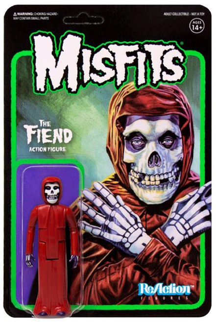 ReAction Misfits The Fiend Action Figure [Crimson Fiend]