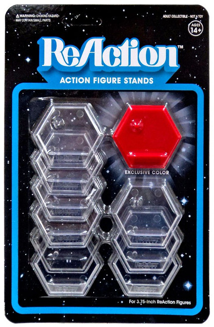 ReAction Heart Juice Action Figure Stand 10-Pack [Red]