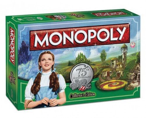 Monopoly The Wizard of Oz 75th Anniversary Collector's Edition Board Game
