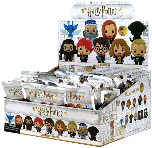 3D Figural Keyring Harry Potter Series 4 Mystery Box [24 Packs]