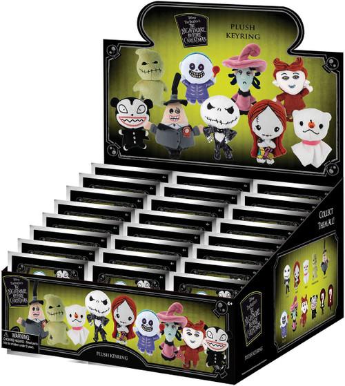 Nightmare Before Christmas Plush Keyring NBX Series 1 Mystery Box [24 Packs]