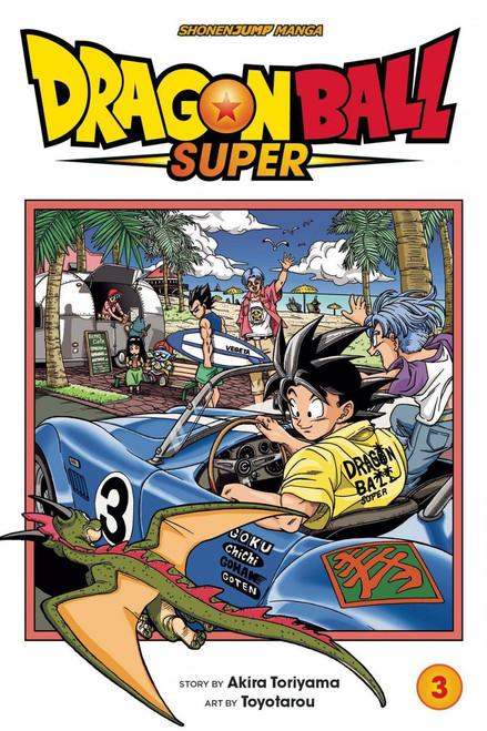 Viz Media Dragon Ball Super Volume 3 Manga Trade Paperback