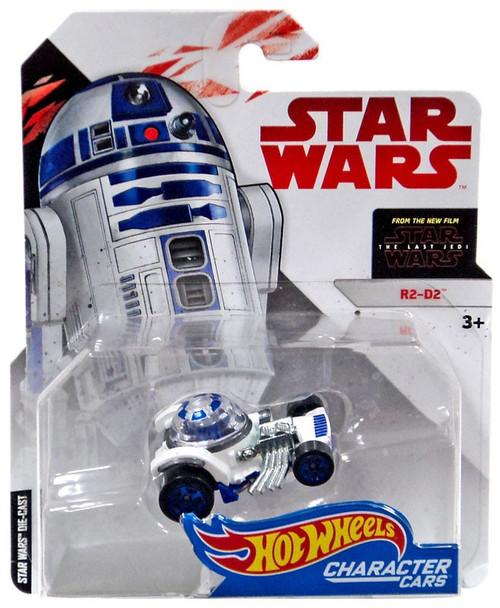 Hot Wheels Star Wars: The Last Jedi Character Cars R2-D2 Diecast Car