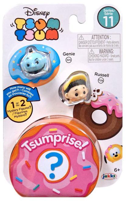 Disney Tsum Tsum Series 11 Genie & Russell 1-Inch Minifigure 3-Pack