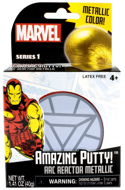 Marvel Amazing Putty! Arc Reactor Metallic Putty