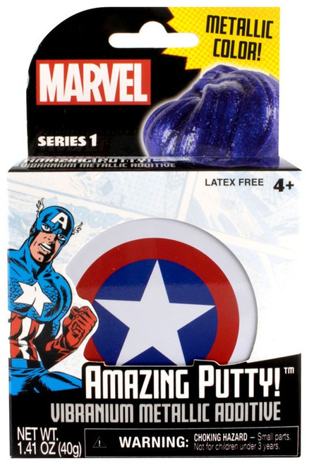Marvel Amazing Putty! Vibranium Metallic Additive Putty