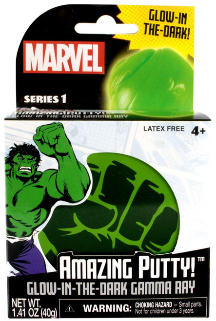 Marvel Amazing Putty! Glow-in-the-Dark Gamma Ray Putty