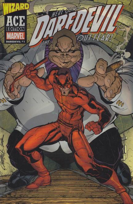 Marvel Comics Vol. 1 Daredevil #1 Wizard 1/2 Ace Edition Comic Book