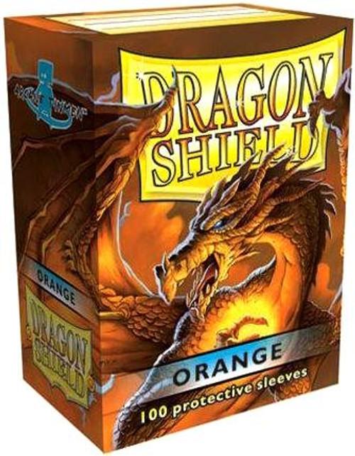 Card Supplies Dragon Shield Orange Standard Card Sleeves [100 Count]