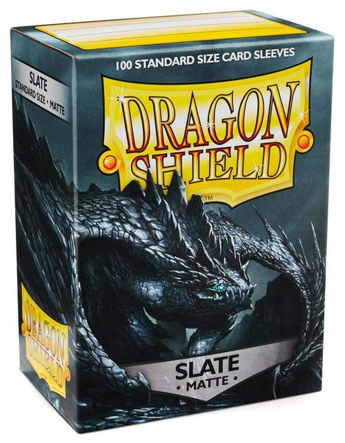 Card Supplies Dragon Shield Matte Slate Standard Card Sleeves [100 Count]