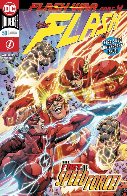 DC The Flash #50 Comic Book