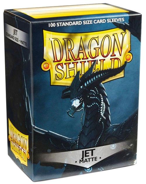 Card Supplies Dragon Shield Matte Jet Standard Card Sleeves [100 Count]