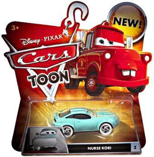 Disney / Pixar Cars Cars Toon Main Series Nurse Kori Turbowitz Diecast Car #2 [Damaged Package]