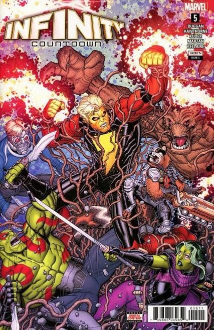 Marvel Comics Infinity Countdown #5 Comic Book