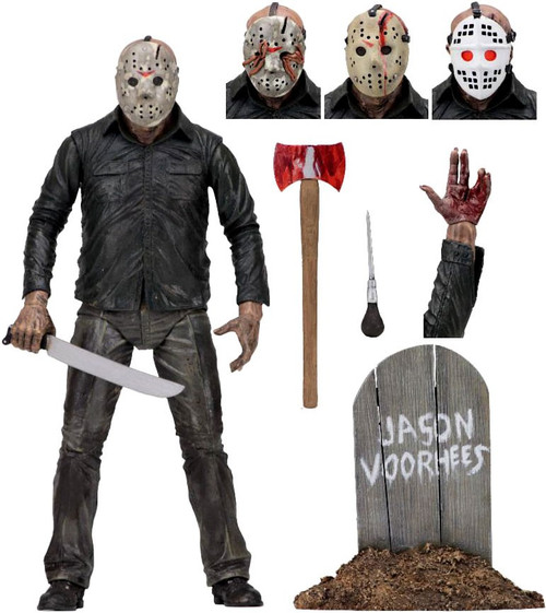 NECA Friday the 13th Part 5 Dream Sequence Jason Voorhees Action Figure [Ultimate Version]