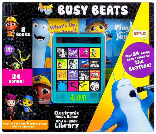 Beat Bugs Busy Beats [Electronic Music Maker & 8-Book Library]