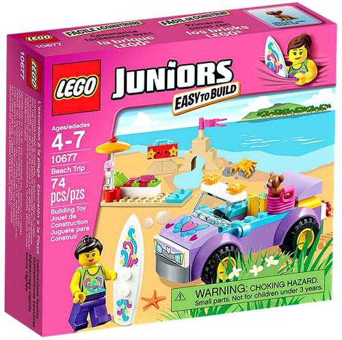 LEGO Juniors Beach Trip Set #10677 [Damaged Package]